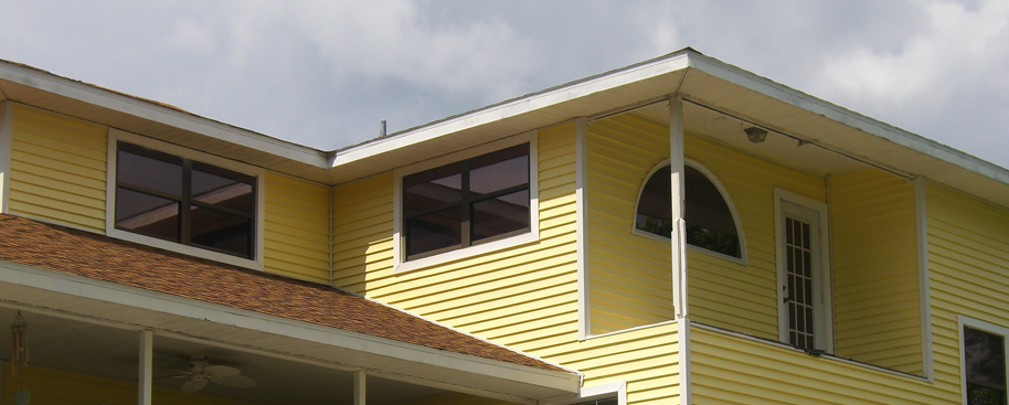 Yellow Sided Home